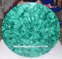Round Malachite Coffee Table Top,Green Malachite Table Top ...