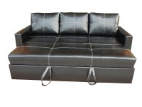 Leather Modern Pull-out Sofa Bed - Buy Pull-out Sofa Bed ...
