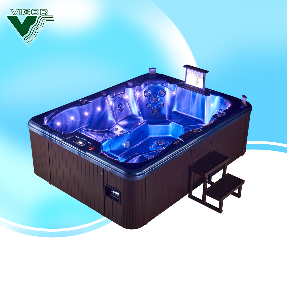 Whirlpool Outdoor Swim Spa Factory Jy8002 Balboa Sex Whirlpool Outdoor Swimming Spa Pool Bath Tub 8 Person Use Buy Bath Tub 8 Hydro Spa Hot Tub Outdoor Spa Hot Tub Product On