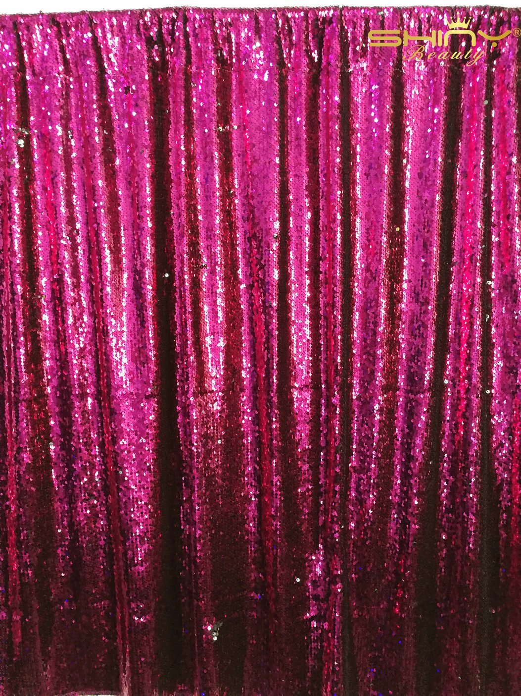 Pink Sequin Curtains Buy Sequin Backdrop Fuchsia Pink 3ftx5ft Shimmer Holiday Fabric