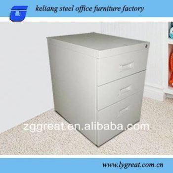 Durable Steelen Cabinet With Wicker Drawers Dust Proof