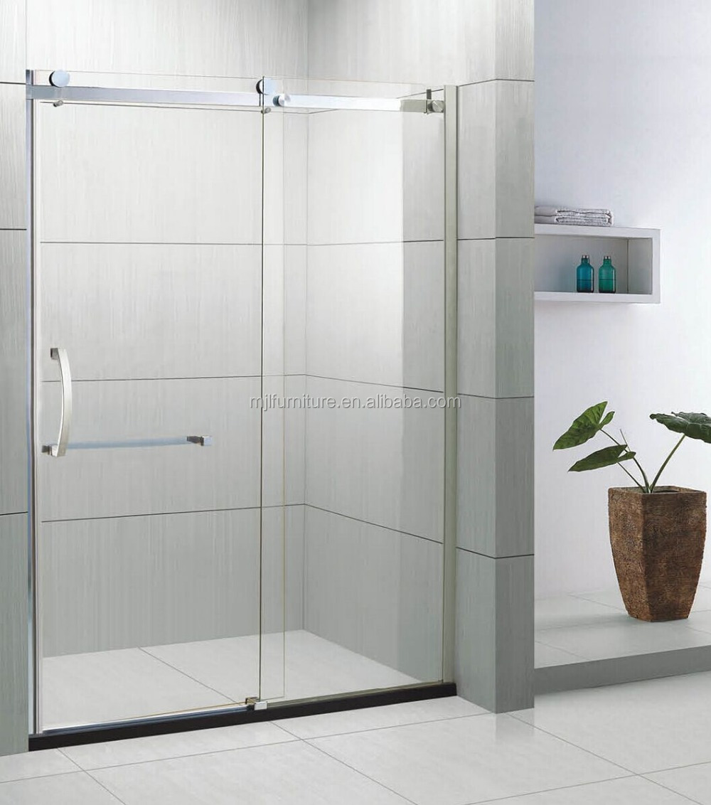 Glasschiebetür Für Badezimmer | Duschabtrennung Glas Schiebetür ...