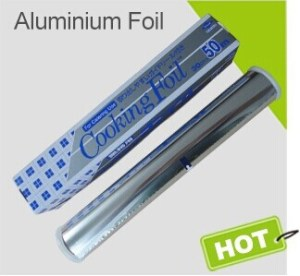 Paper backed foil for food packing/aluminium foil for food