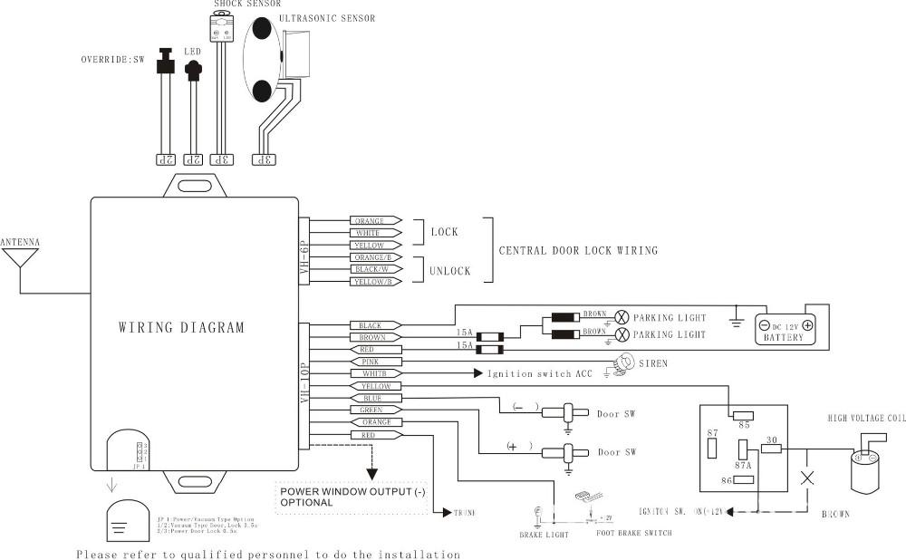 Wiring Diagram Alarm Mobil Wiring Diagram Libraries