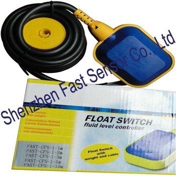 Long Cable Type 3 Wires Angled Change Over Float Liquid Level Switch