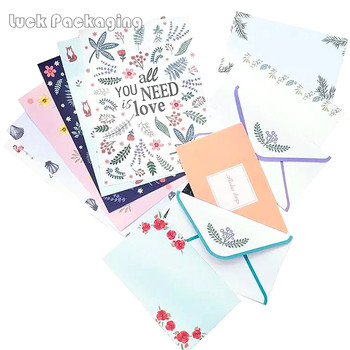 Fancy Design Customized Paper Printing Stationery Letter Envelope