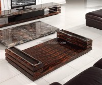 Modern Nature Marble Living Room Coffee Table Center Table ...
