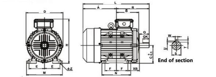 f 117 Diagrama del motor