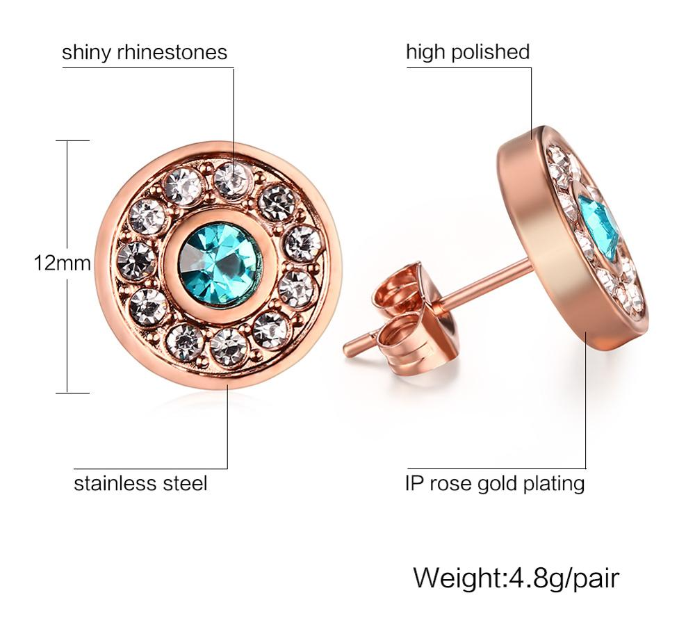 Wholesale Jewelry Japan Japan And South Korea Fashion Jewelry Wholesale Stainless Steel Blue Diamond Stud Earrings Yss1146 Buy Stainless Steel Blue Diamond Stud