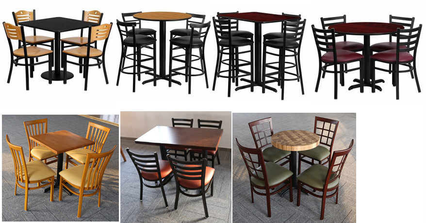Dg 6q2b 6r6b Cheap Metal Used Restaurant Table And Chair