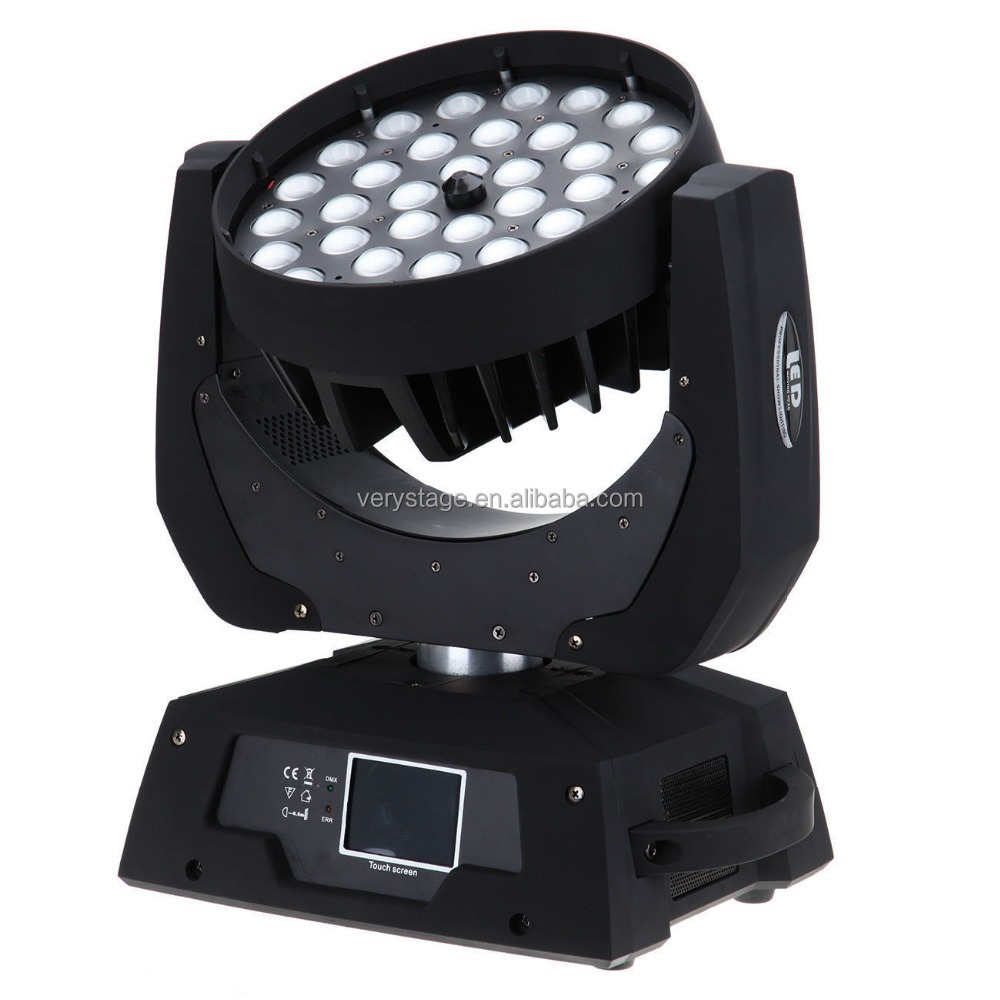 Jb Lighting Moving Head Circular Lyre Dmx Moving Head Wash 36x15w Rgbwa Uv 6in1 Zoom Led Moving Head Light Buy Was 36x15w Zoom Led Moving Head Light High Quality Zoom Led