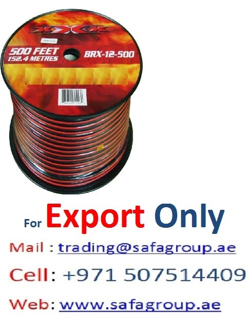 Electrical Cables For Export - Dubai Uae,Africa,Iraq,Afghanistan