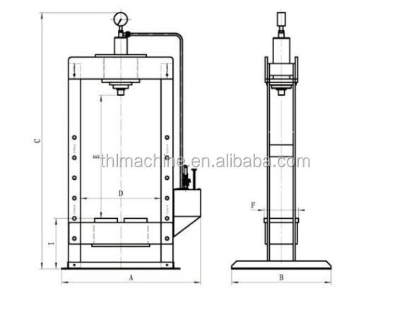 Manual Hydraulic Press Msy - Buy Hydraulic Press,Hydraulic Press