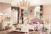 Latest Fancy Bedroom Set Ha-909# Antique Bedroom Furniture ...
