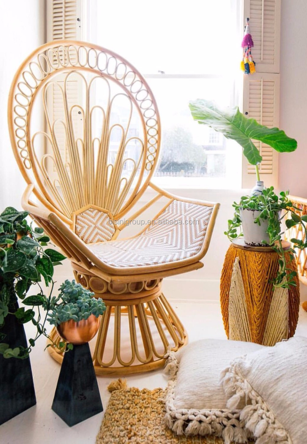 Peacock Living Room Bisini Natural Rattan Furniture Peacock Chair Rattan Chair Living Room Furniture Bg10 M486 View Living Room Furniture Bisini Product Details From