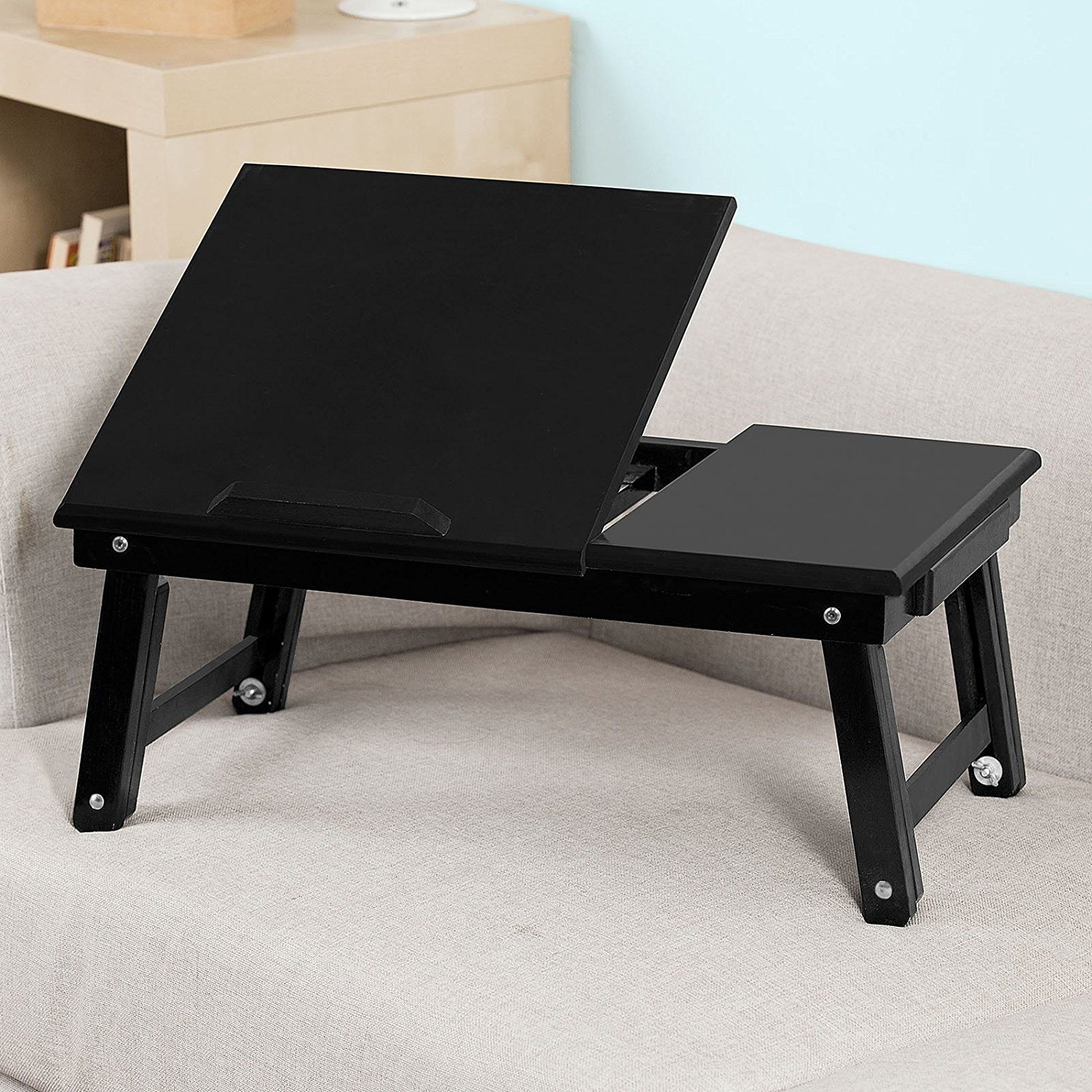 Sobuy Shop Buy Sobuy Folding Wood Food Breakfast Table Bed Tray Table Desk