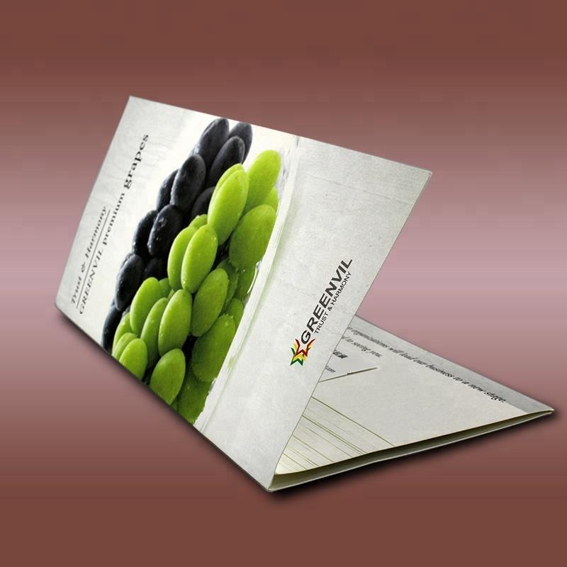 Custom Laminated Folding Flyer Trifold Brochure Printing Service - Buy  Trifold Brochure Printing,Laminated Folding Brochure Printing,Brochure  Printing