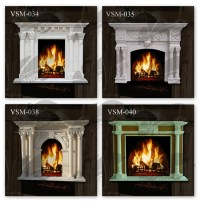 Bioethanol Fireplace,Fireplace Kits Indoor,Electric Marble ...