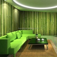 3d Bamboo Design Wall Murals Wallpapers For Hotel Or Room ...