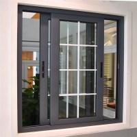 New Design Aluminum Sliding Window With Sub Frame - Buy ...
