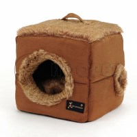 covered dog beds