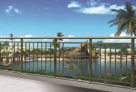 Luxury Aluminum Alloy Balcony Handrail/balcony Railing ...