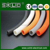White Fire Resistant Plastic Flexible Electrical Cable ...