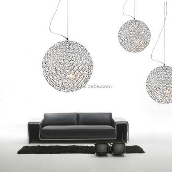 Decorative Lighting Led Lighting Modern Chrome Metal