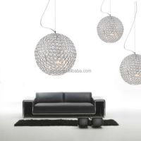 Decorative Lighting Led Lighting Modern Chrome Metal