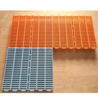 700mm*700mm Poultry Plastic Flooring For Farrowing Crate ...