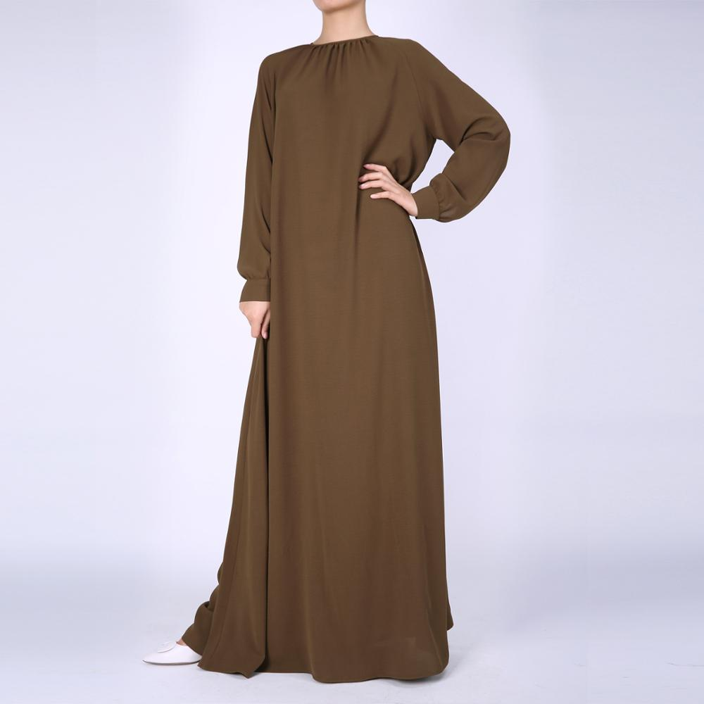 Wholesale Abaya Suppliers Fashion Plain Long Women Saudi Abaya Wholesale Islamic
