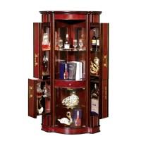 Distressed Corner Bar Cabinet,Bar Furniture Corner Bar ...