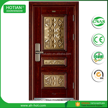 2017 Latest Design Cheap Price Steel Door Indian House Main Gate - unique home designs security doors