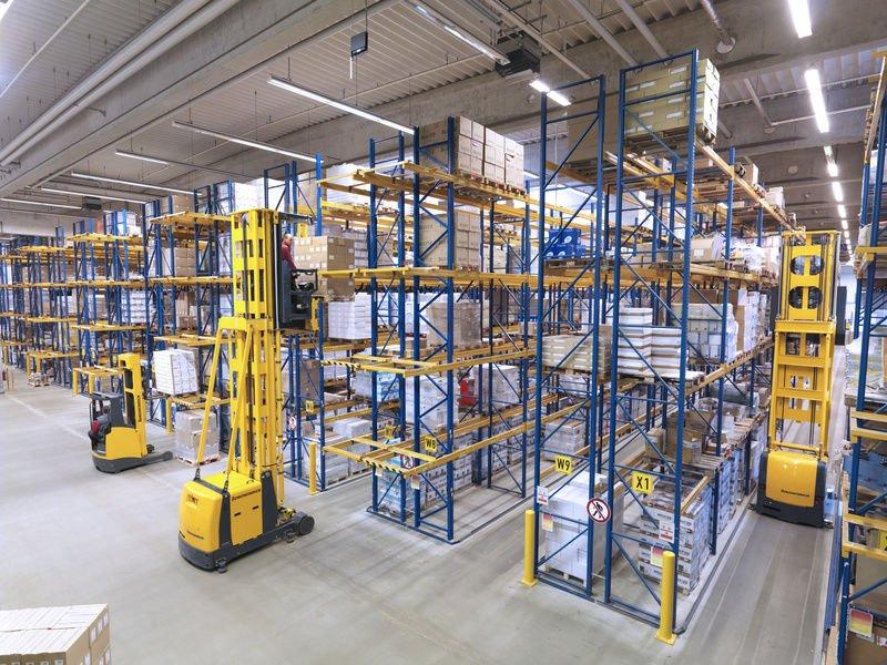 Narrow Aisle Shelf High Quality Vna Rack For Warehouse