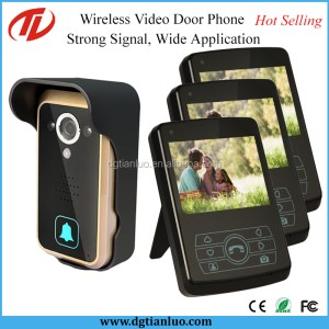 Smart Wireless 3.7 Inch Video Door Peephole Viewer with Image Capture