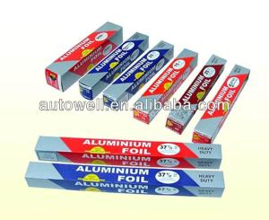 used for food/ medical packing aluminum foil rolls