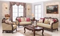 Colonial Sofa Colonial Living Room Sofa Mahogany Indoor ...
