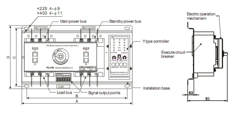 Wiring Diagram For Automatic Generator Transfer Switch How To