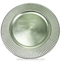 Silver Plastic Charger Plate - Buy Cheap Charger Plates ...