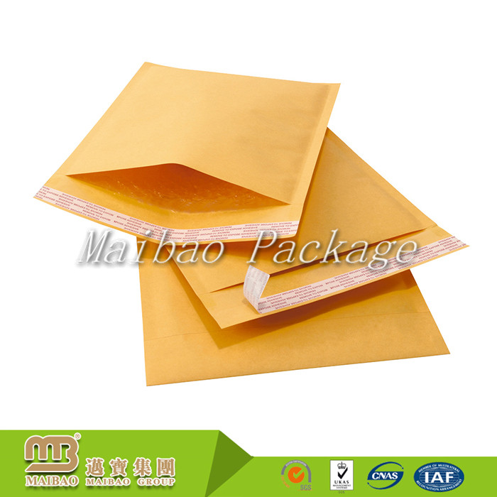 Custom Size Printed A2 A3 A4 Air Bubble Mailing Packaging Brown - envelope a2