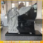 China Black Granite Cemetery Angel Tombstone/Monument/Headstone