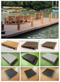 Wpc Pvc Decking Waterproof Flooring Outdoor Deck Floor ...
