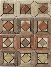 2016 Kb Stone Marble Mosaic Flooring Border Designs - Buy ...