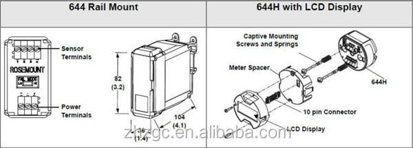 rosemount 644 wiring diagram
