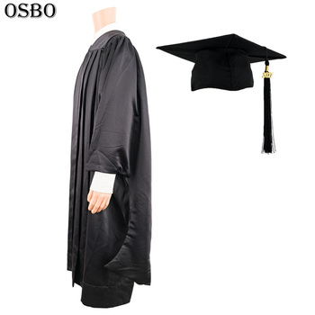 China Factory Price Masters Degree Graduation Gown,School Graduation