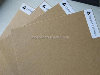 Uncoated 150440gsm Test Liner Kraft Linerboard Paper