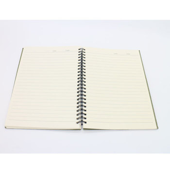 China Manufacture Recycle Kraft Paper Black Line Printing A5 - printing on lined paper