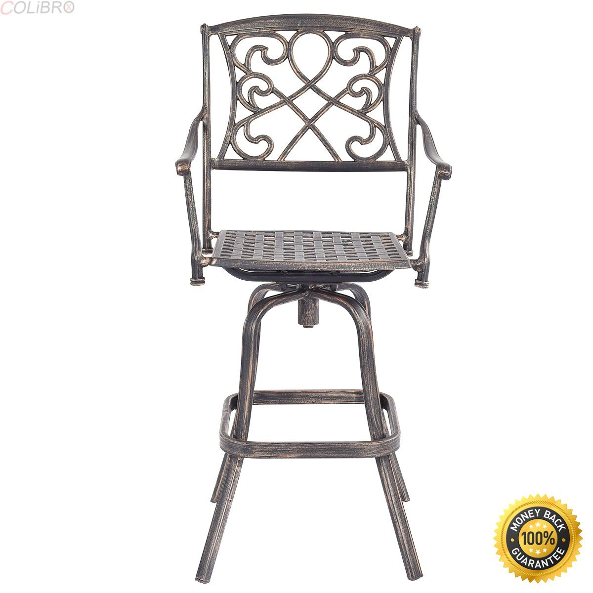 Kitchen Stools For Sale Buy Colibrox Cast Aluminum Swivel Bar Stool Patio Furniture
