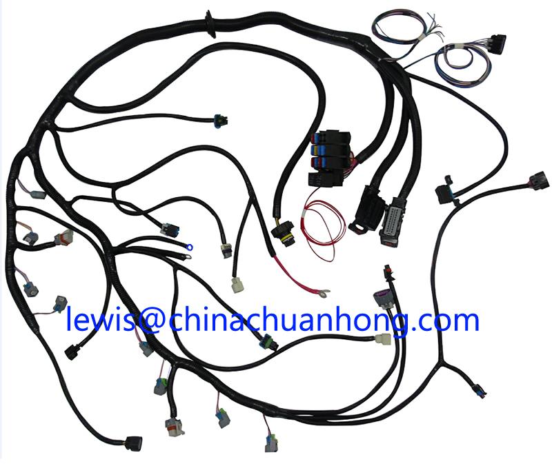 Gm 2009 - 2014 Lh6/ly5/lmg/lh8 (53l) Standalone Wiring Harness W