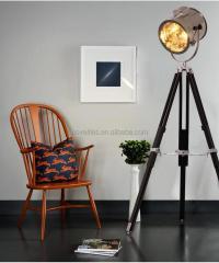 Retro Industrial Loft Tripod Floor Standing Lamp,Nautical ...